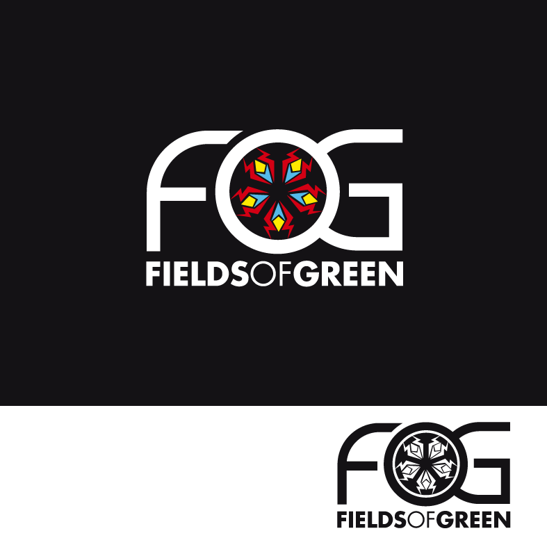 Logo Design by luna - Entry No. 153 in the Logo Design Contest Psych-Rock Band FIELDS OF GREEN Logo Design.