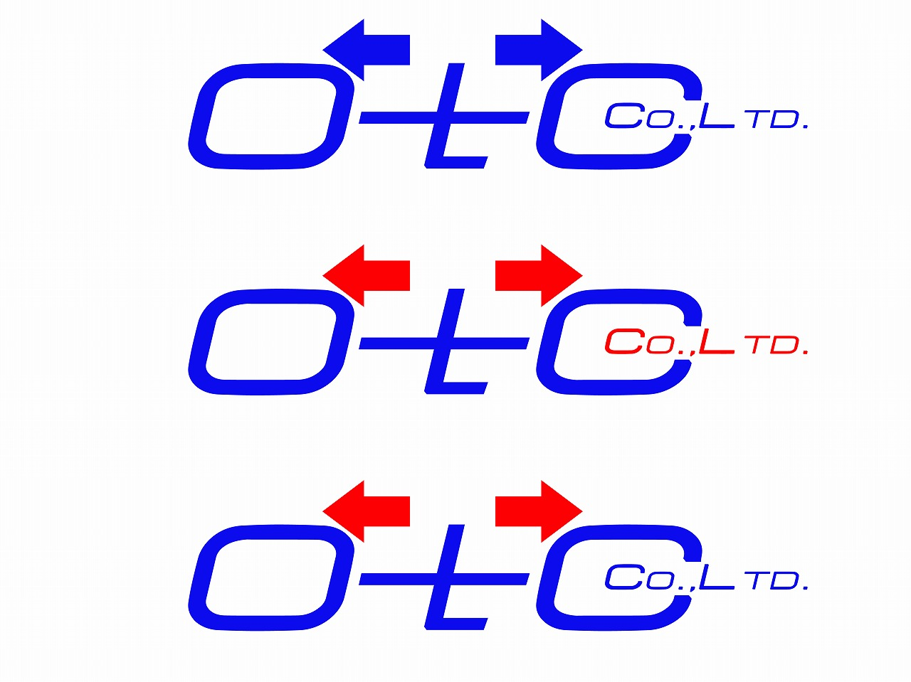 Logo Design by Jerry Nable Jr - Entry No. 30 in the Logo Design Contest Unique Logo Design Wanted for OTC Co.,Ltd..