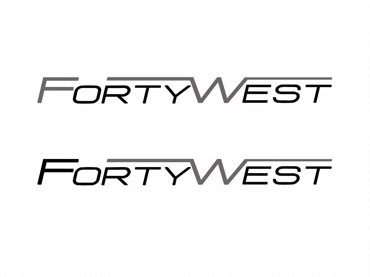 Logo Design by Jerry Nable Jr - Entry No. 228 in the Logo Design Contest Unique Logo Design Wanted for Forty West.