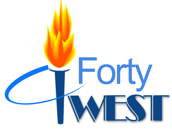 Logo Design by Barry Hodkinson - Entry No. 229 in the Logo Design Contest Unique Logo Design Wanted for Forty West.