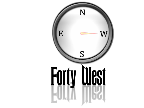 Logo Design by Barry Hodkinson - Entry No. 230 in the Logo Design Contest Unique Logo Design Wanted for Forty West.