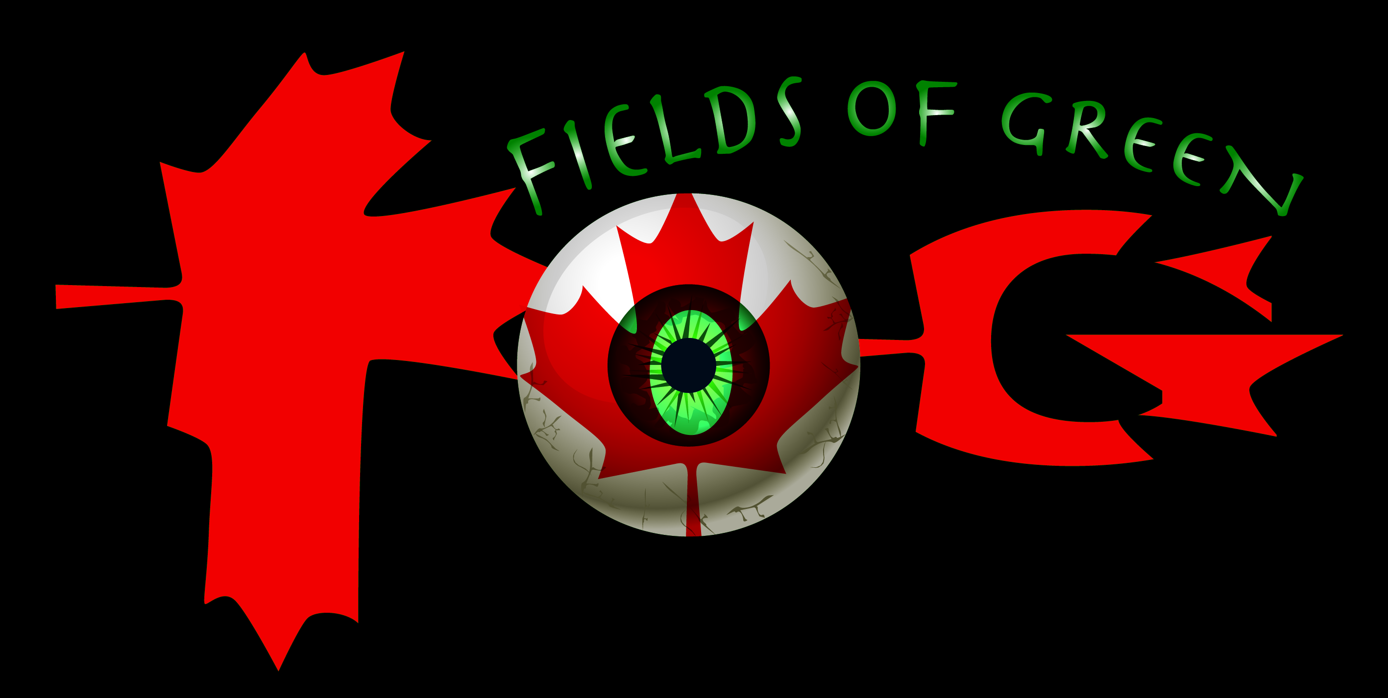 Logo Design by Rogel junior Tiangco - Entry No. 158 in the Logo Design Contest Psych-Rock Band FIELDS OF GREEN Logo Design.