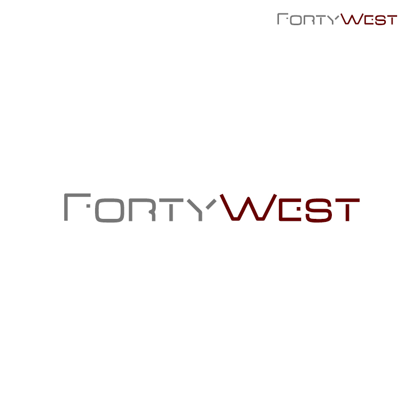 Logo Design by Sand Das - Entry No. 232 in the Logo Design Contest Unique Logo Design Wanted for Forty West.