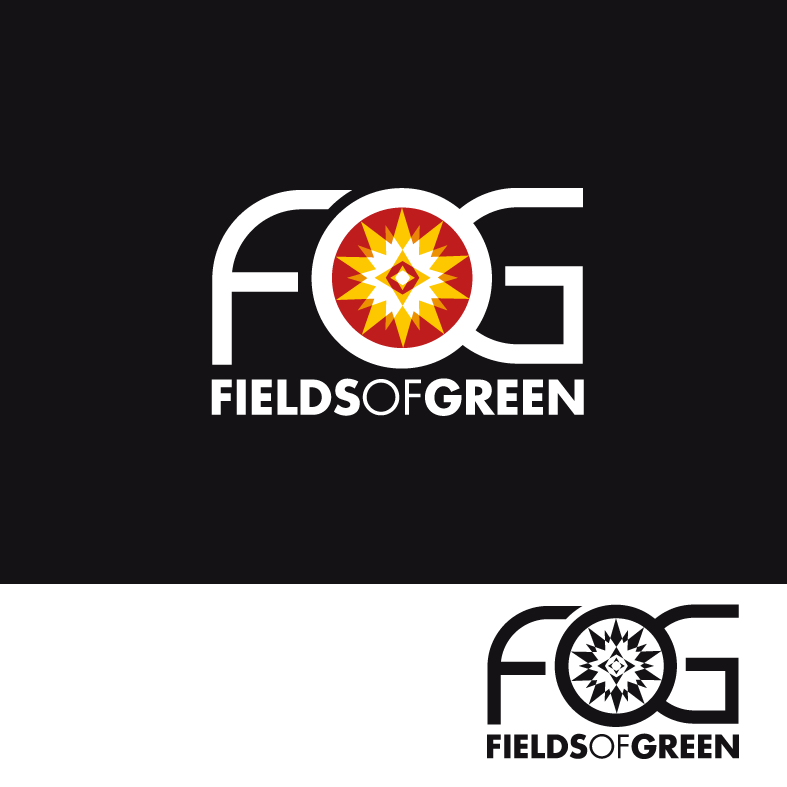 Logo Design by luna - Entry No. 159 in the Logo Design Contest Psych-Rock Band FIELDS OF GREEN Logo Design.