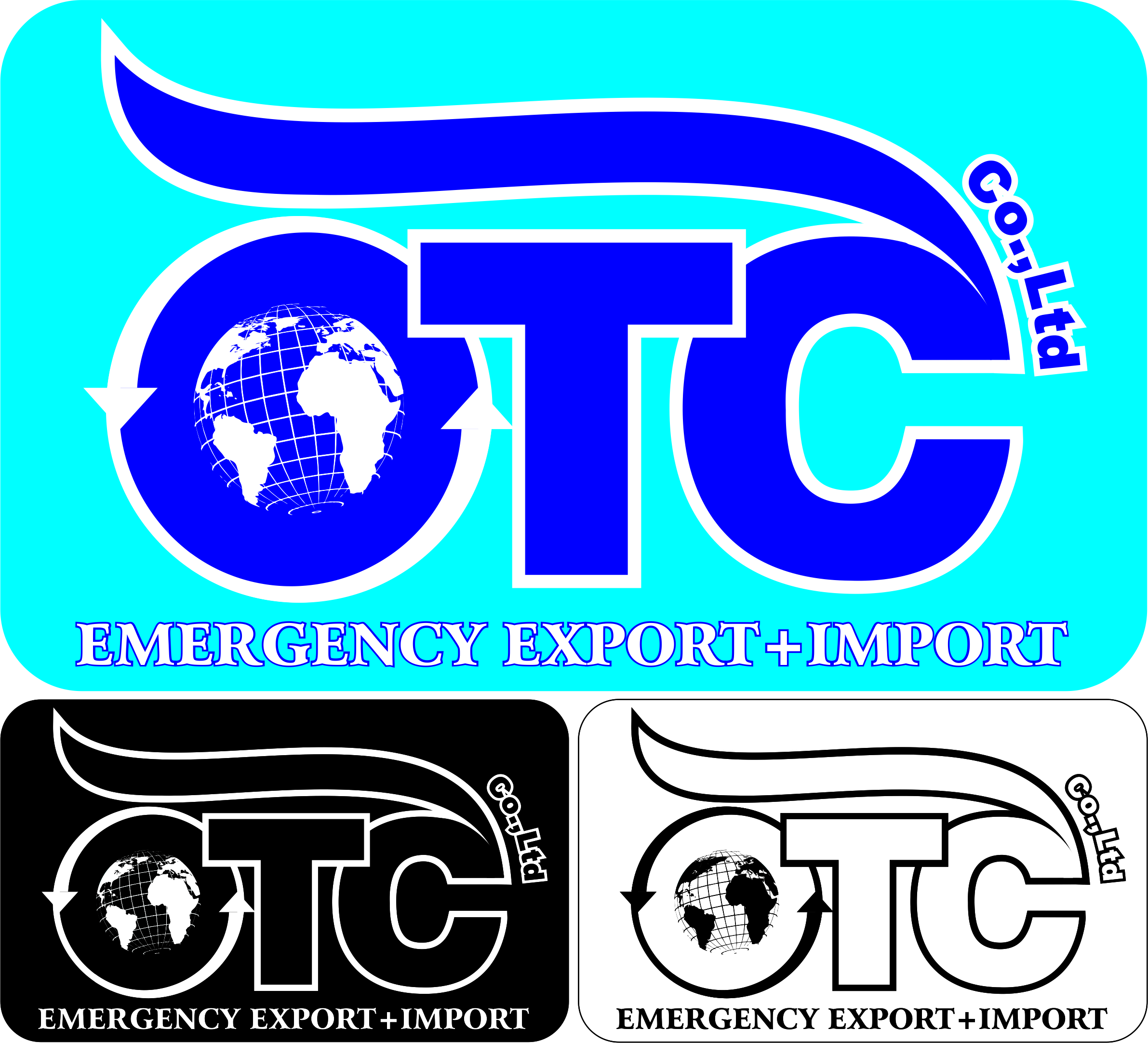 Logo Design by Private User - Entry No. 36 in the Logo Design Contest Unique Logo Design Wanted for OTC Co.,Ltd..