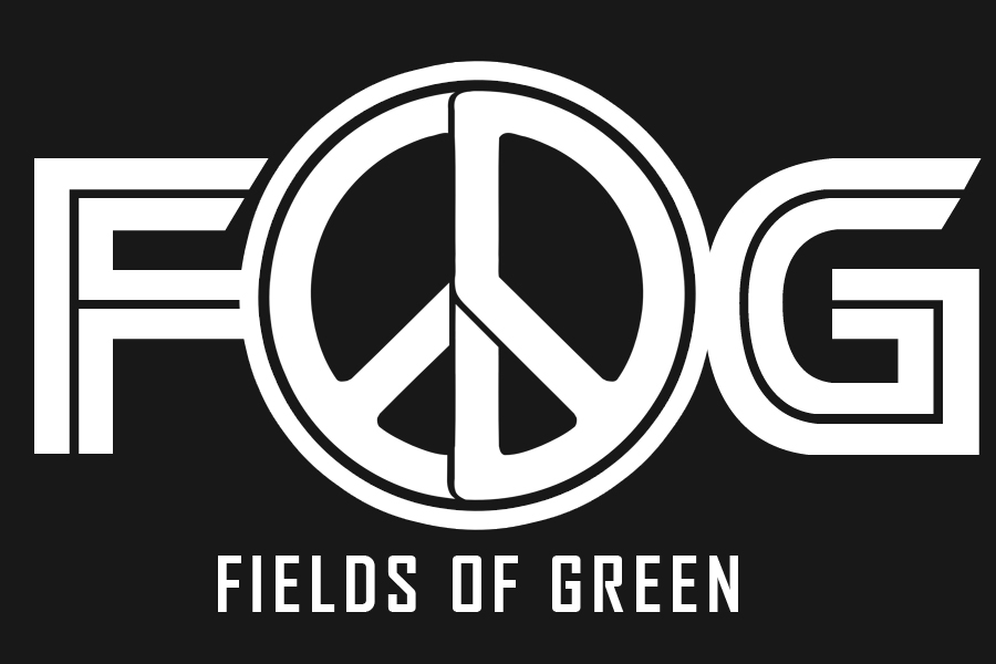 Logo Design by Robert Turla - Entry No. 160 in the Logo Design Contest Psych-Rock Band FIELDS OF GREEN Logo Design.