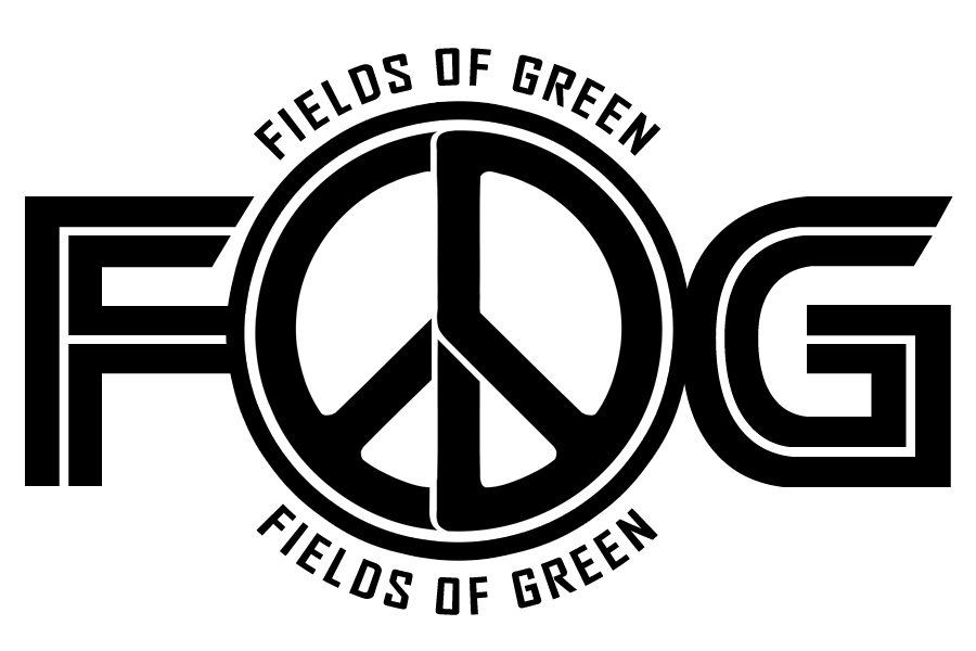 Logo Design by Private User - Entry No. 161 in the Logo Design Contest Psych-Rock Band FIELDS OF GREEN Logo Design.
