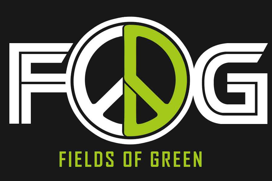 Logo Design by Robert Turla - Entry No. 162 in the Logo Design Contest Psych-Rock Band FIELDS OF GREEN Logo Design.