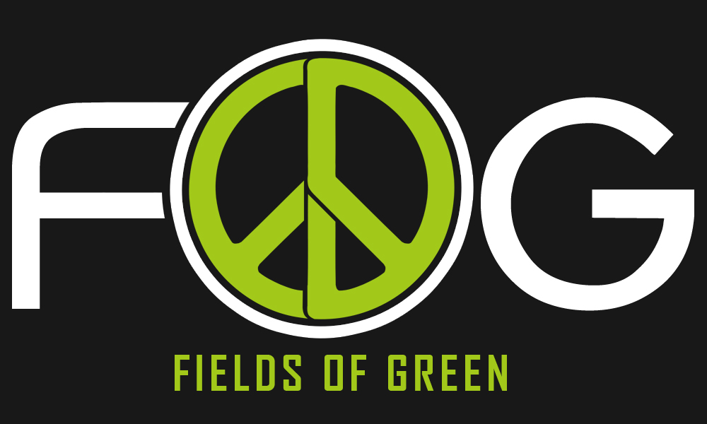 Logo Design by Private User - Entry No. 165 in the Logo Design Contest Psych-Rock Band FIELDS OF GREEN Logo Design.