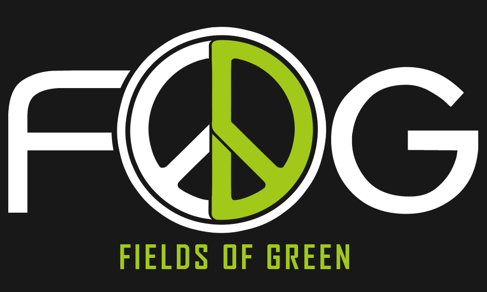 Logo Design by Robert Turla - Entry No. 166 in the Logo Design Contest Psych-Rock Band FIELDS OF GREEN Logo Design.
