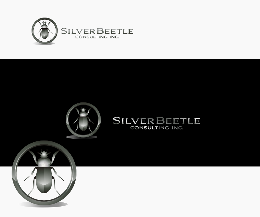Logo Design by Muhammad Nasrul chasib - Entry No. 86 in the Logo Design Contest Silver Beetle Consulting Inc. Logo Design.