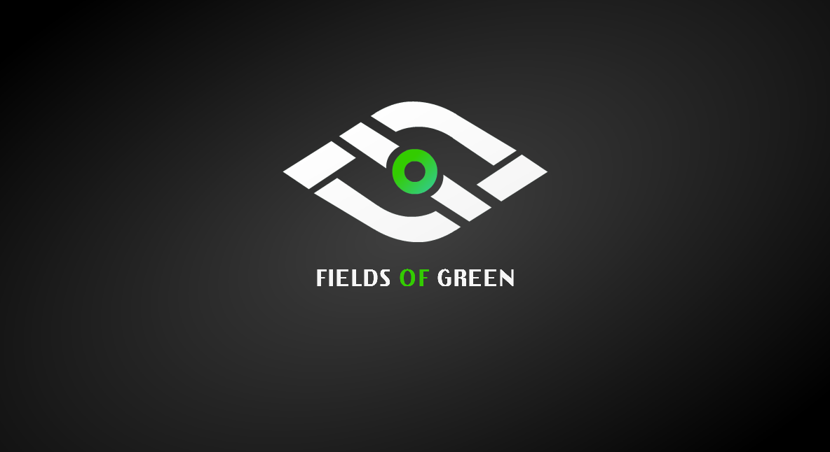 Logo Design by Marcky Halsky - Entry No. 170 in the Logo Design Contest Psych-Rock Band FIELDS OF GREEN Logo Design.