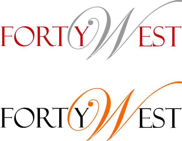Logo Design by Bineesh Ck Bineesh - Entry No. 233 in the Logo Design Contest Unique Logo Design Wanted for Forty West.
