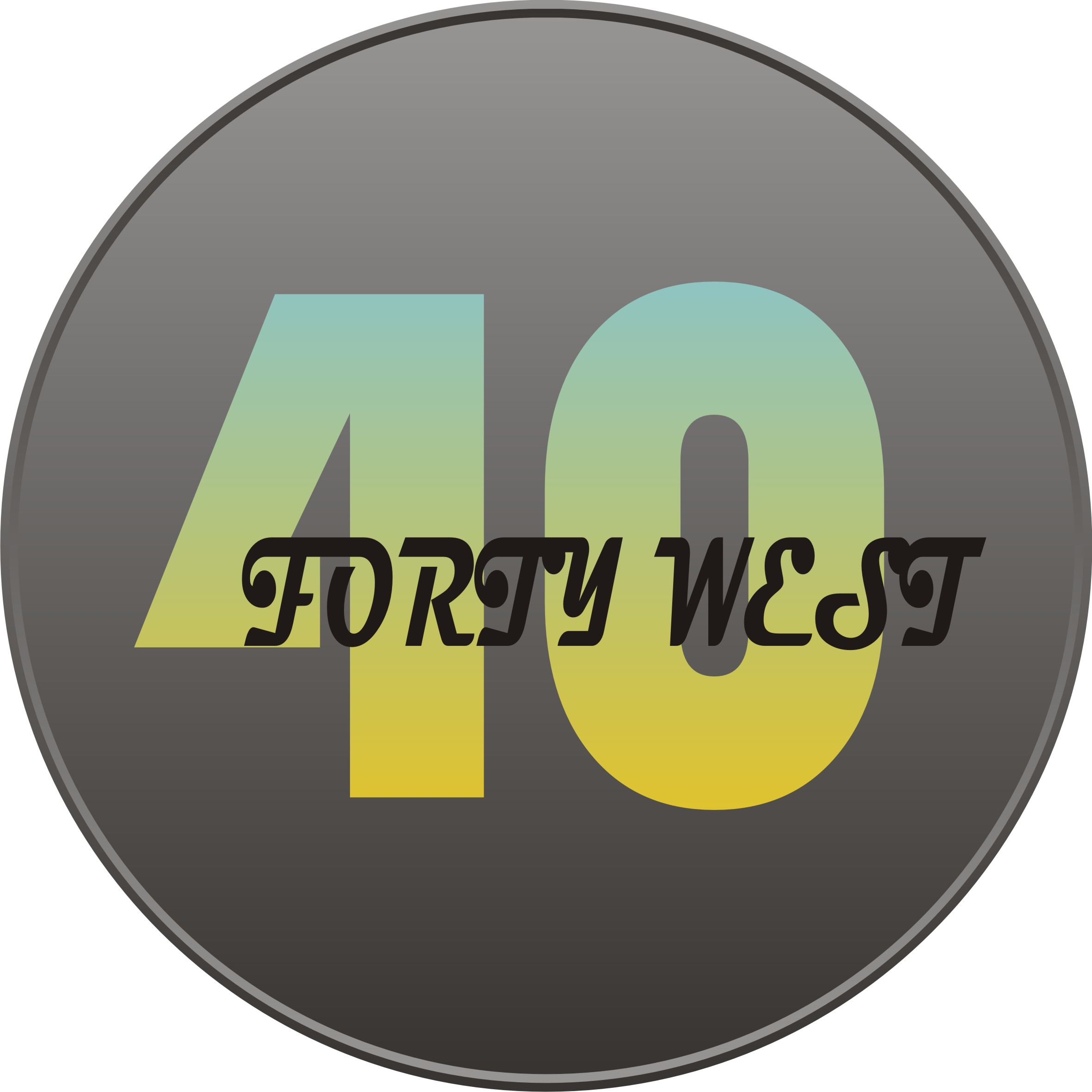 Logo Design by Sigit Nurcahyo - Entry No. 234 in the Logo Design Contest Unique Logo Design Wanted for Forty West.
