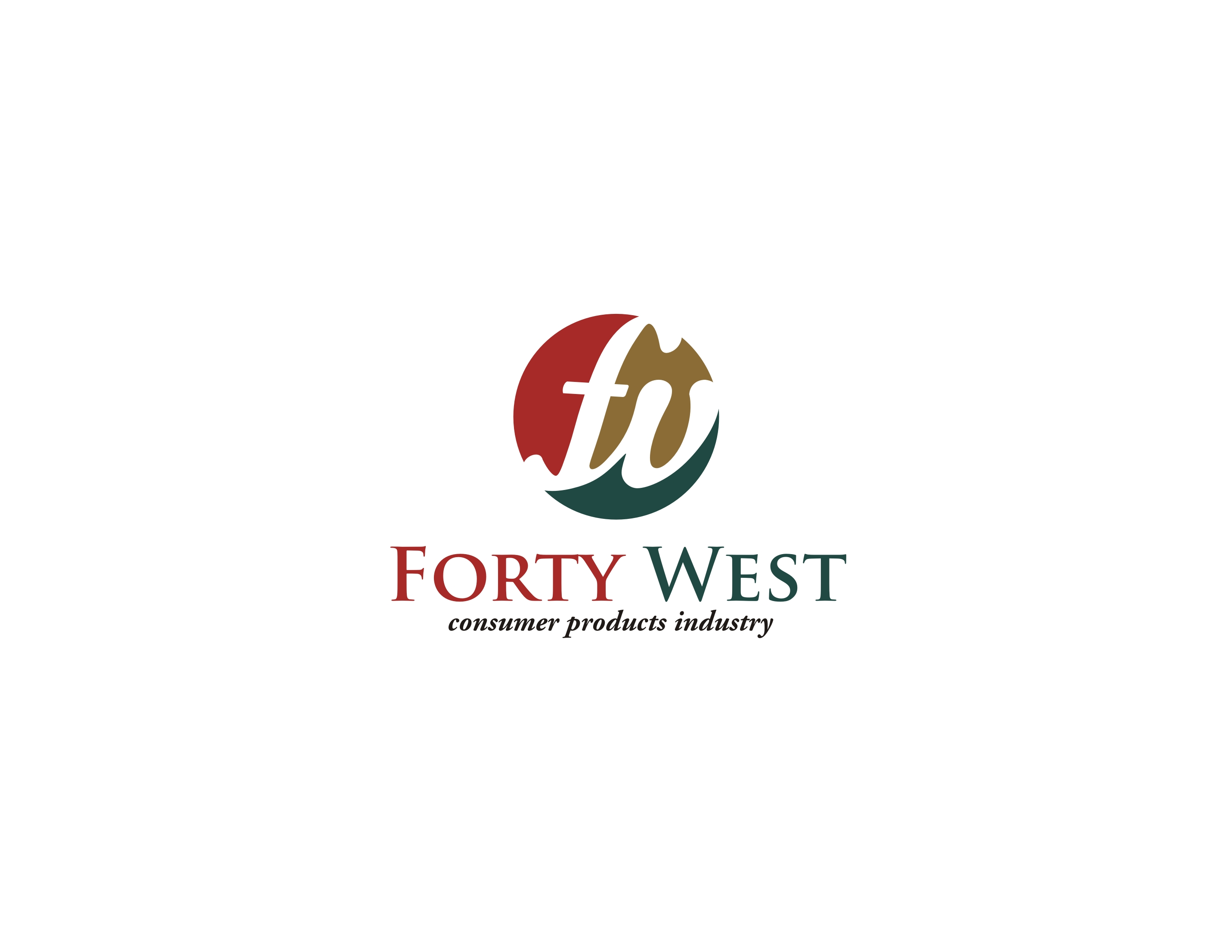 Logo Design by Arindam Goon - Entry No. 238 in the Logo Design Contest Unique Logo Design Wanted for Forty West.