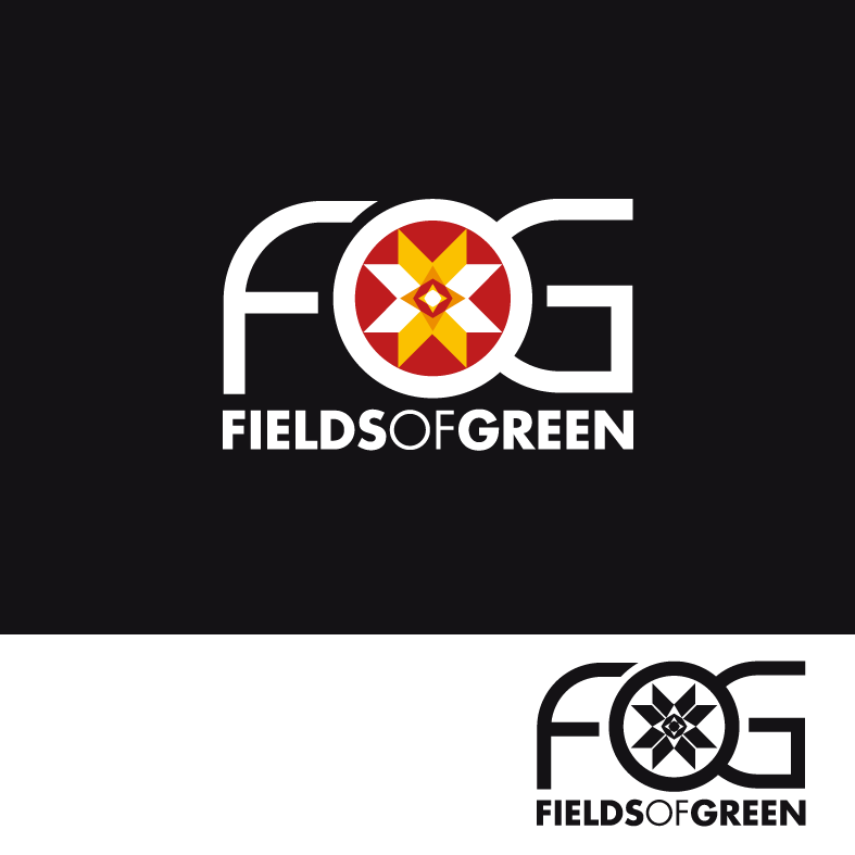Logo Design by luna - Entry No. 172 in the Logo Design Contest Psych-Rock Band FIELDS OF GREEN Logo Design.