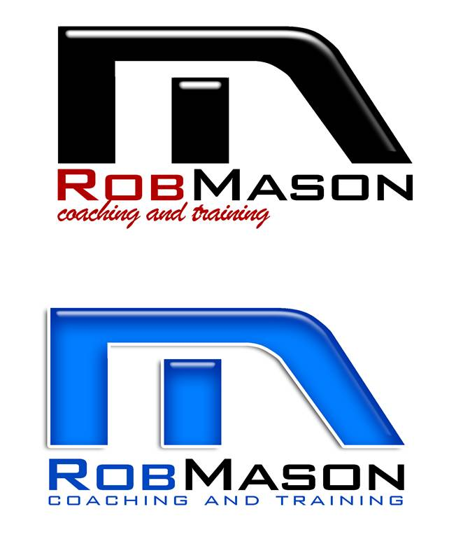 Logo Design by Respati Himawan - Entry No. 115 in the Logo Design Contest New Logo Design Needed for Exciting Company Rob Mason Coaching.