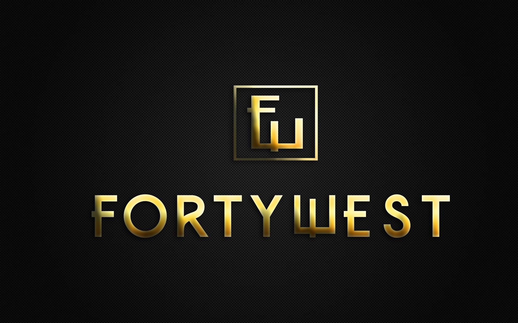 Logo Design by Private User - Entry No. 241 in the Logo Design Contest Unique Logo Design Wanted for Forty West.
