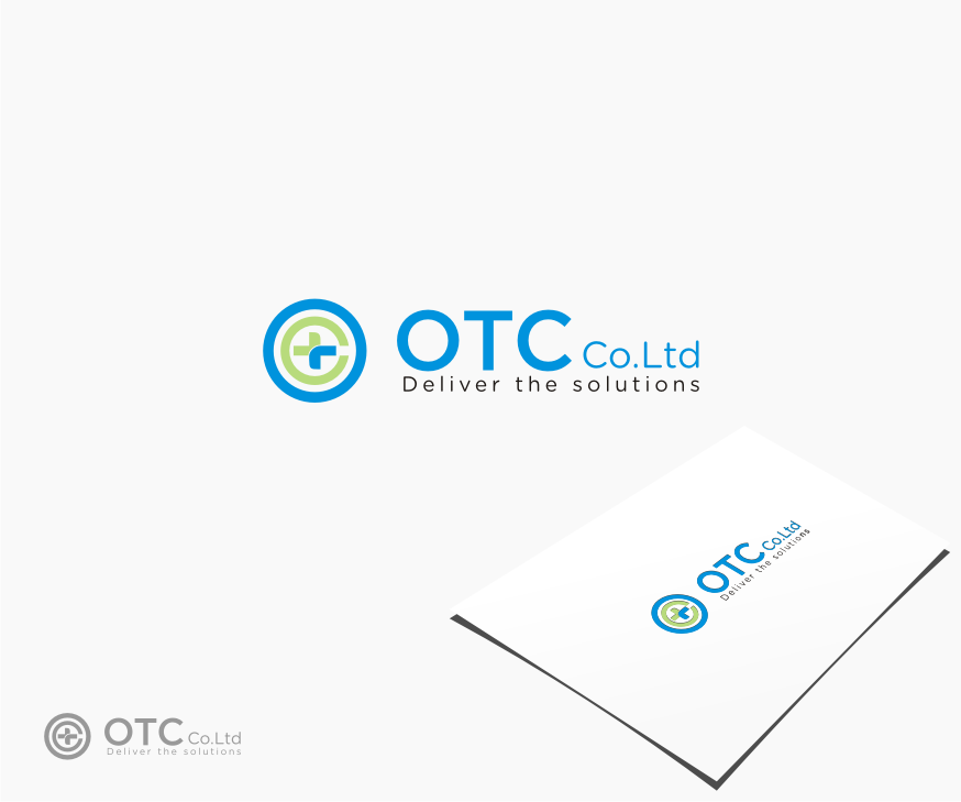 Logo Design by graphicleaf - Entry No. 39 in the Logo Design Contest Unique Logo Design Wanted for OTC Co.,Ltd..