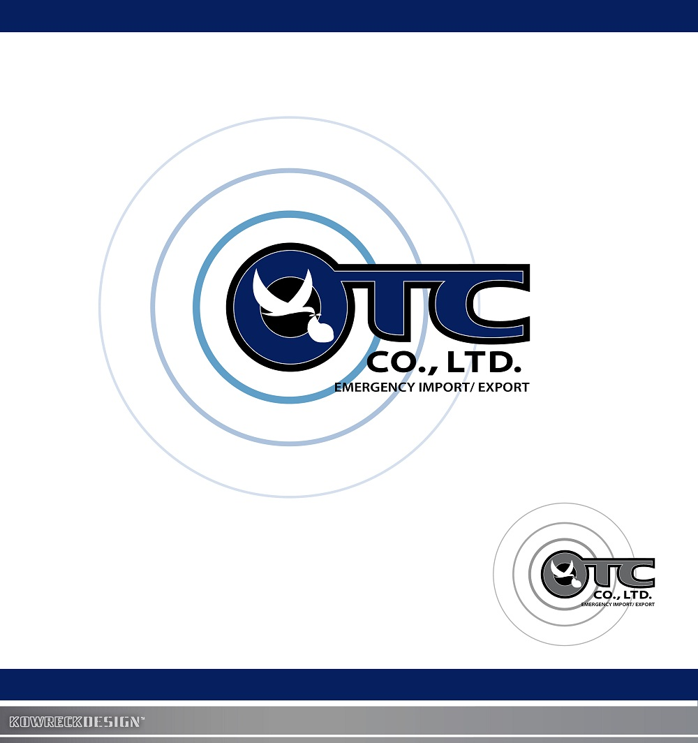 Logo Design by kowreck - Entry No. 40 in the Logo Design Contest Unique Logo Design Wanted for OTC Co.,Ltd..