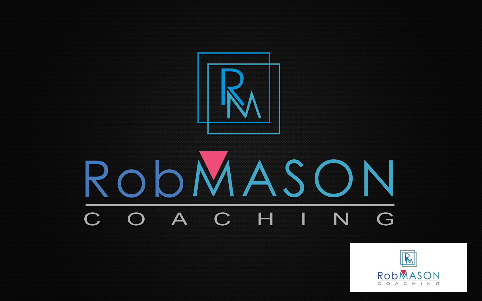 Logo Design by Private User - Entry No. 116 in the Logo Design Contest New Logo Design Needed for Exciting Company Rob Mason Coaching.