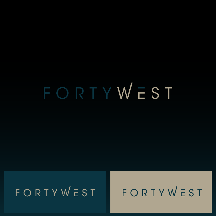 Logo Design by zesthar - Entry No. 245 in the Logo Design Contest Unique Logo Design Wanted for Forty West.