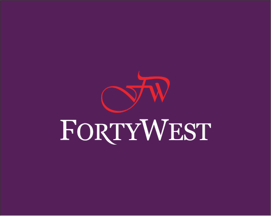 Logo Design by Armada Jamaluddin - Entry No. 246 in the Logo Design Contest Unique Logo Design Wanted for Forty West.
