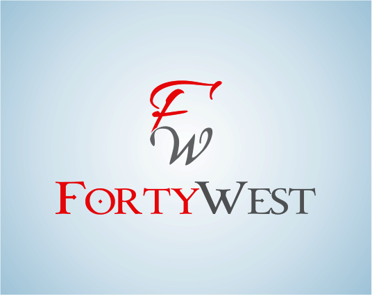 Logo Design by Armada Jamaluddin - Entry No. 247 in the Logo Design Contest Unique Logo Design Wanted for Forty West.