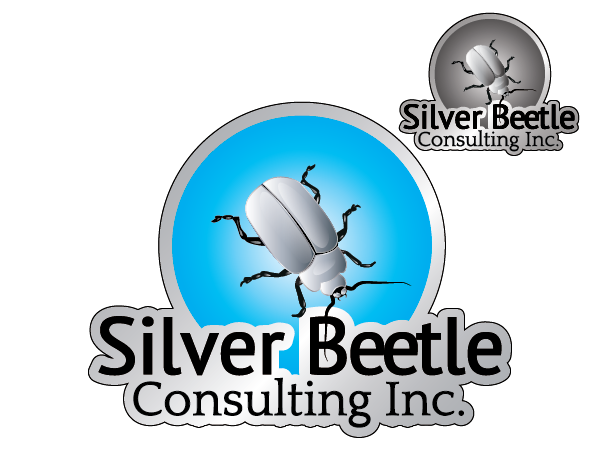 Logo Design by cOOOkie - Entry No. 88 in the Logo Design Contest Silver Beetle Consulting Inc. Logo Design.
