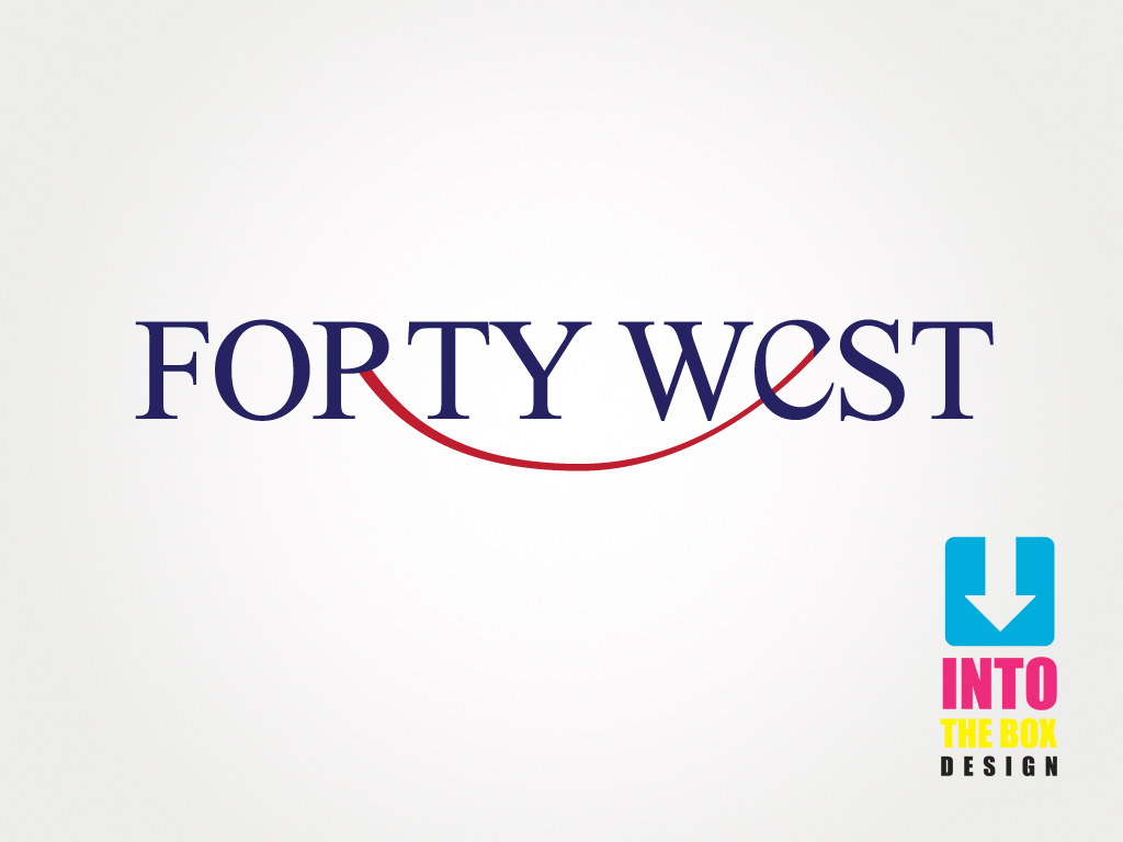 Logo Design by Into The Box Design - Entry No. 251 in the Logo Design Contest Unique Logo Design Wanted for Forty West.