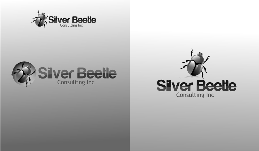 Logo Design by Private User - Entry No. 94 in the Logo Design Contest Silver Beetle Consulting Inc. Logo Design.