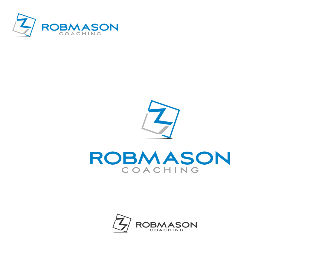 Logo Design by graphicleaf - Entry No. 117 in the Logo Design Contest New Logo Design Needed for Exciting Company Rob Mason Coaching.