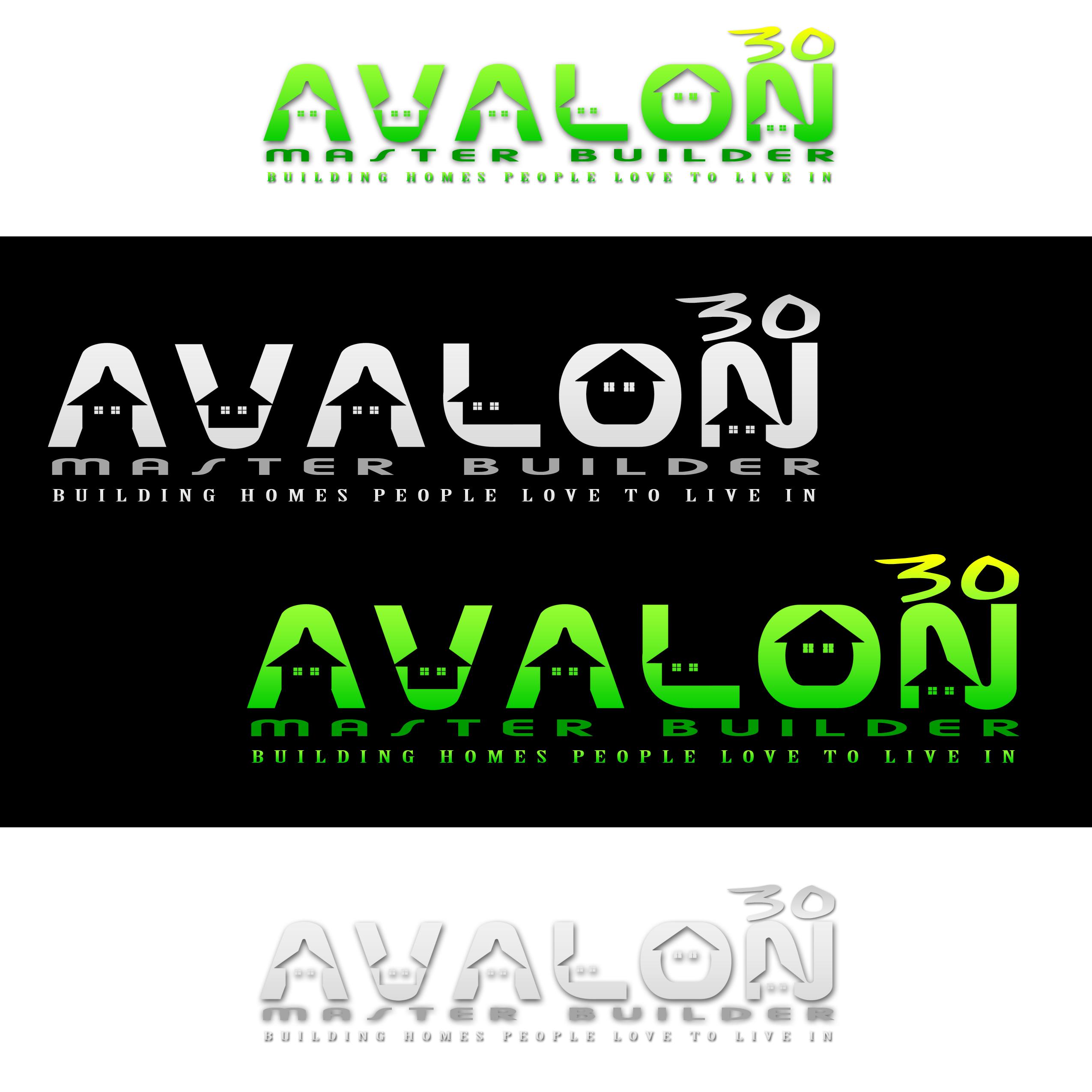 Logo Design by omARTist - Entry No. 38 in the Logo Design Contest Avalon Master Builder Logo Design.