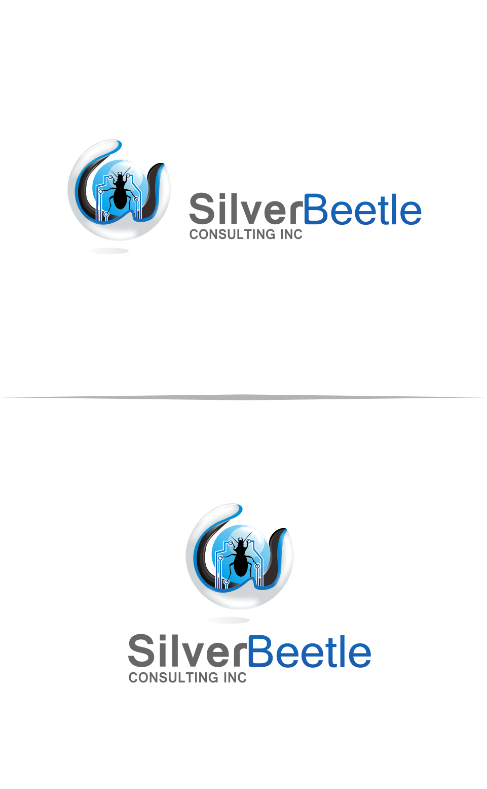 Logo Design by Mitchnick Sunardi - Entry No. 97 in the Logo Design Contest Silver Beetle Consulting Inc. Logo Design.