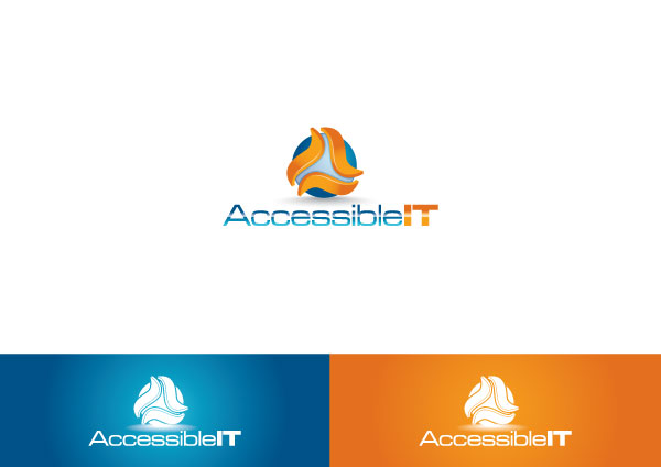 Logo Design by Private User - Entry No. 496 in the Logo Design Contest Logo Design Needed for Exciting New Company Accessible IT.