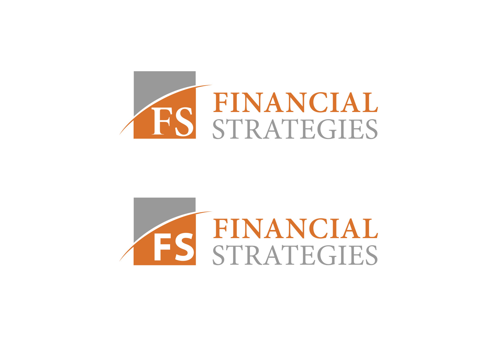 Logo Design by ddamian_dd - Entry No. 52 in the Logo Design Contest Logo Design Needed for Exciting New Company FS Financial Strategies.
