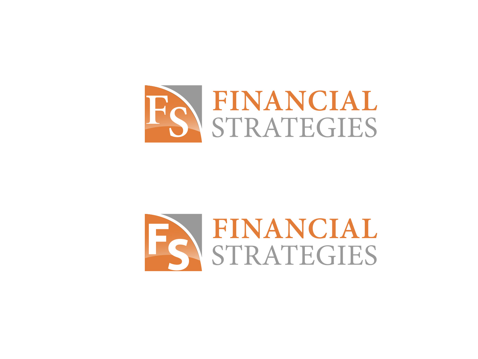 Logo Design by ddamian_dd - Entry No. 53 in the Logo Design Contest Logo Design Needed for Exciting New Company FS Financial Strategies.