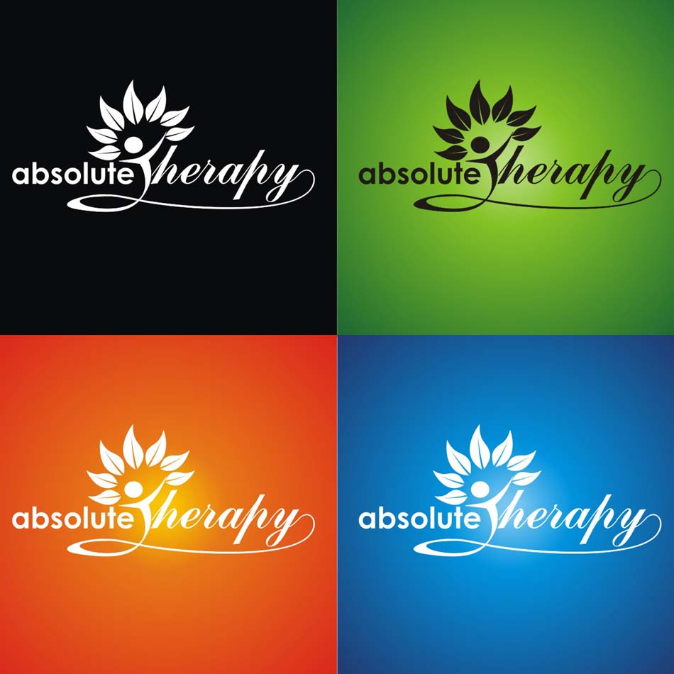 Logo Design by Heru budi Santoso - Entry No. 124 in the Logo Design Contest Absolute Therapy.