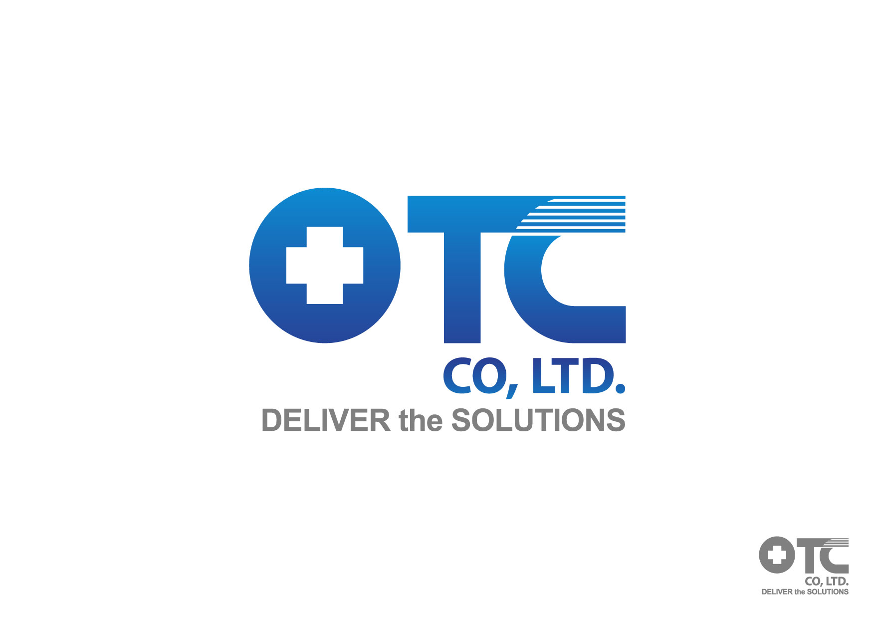 Logo Design by Nurgalih Destianto - Entry No. 69 in the Logo Design Contest Unique Logo Design Wanted for OTC Co.,Ltd..