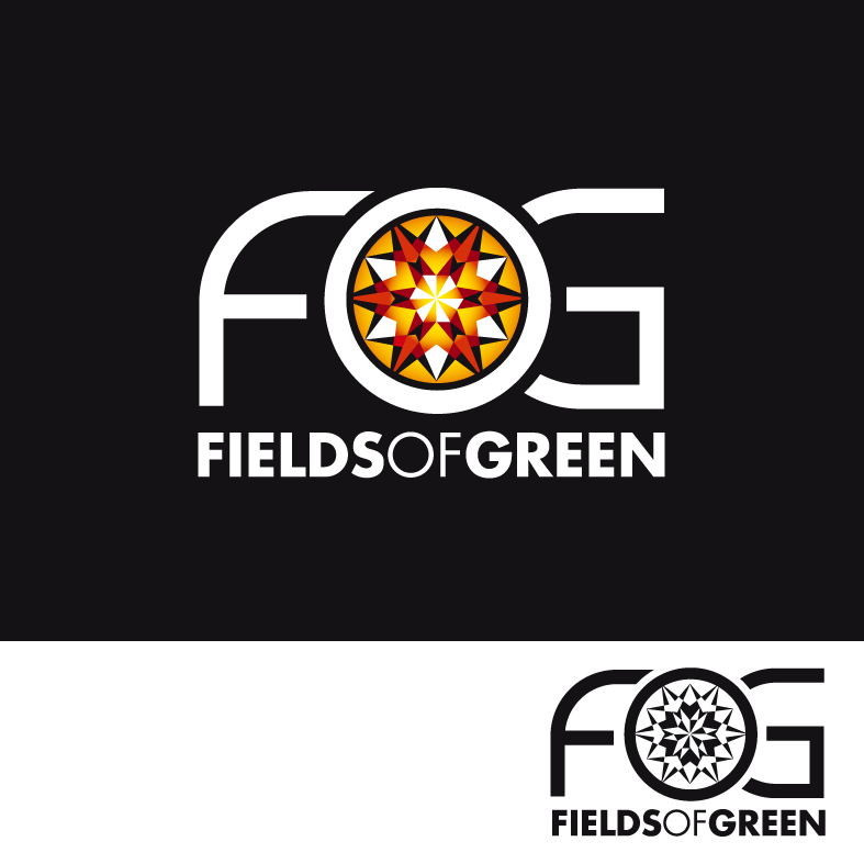 Logo Design by luna - Entry No. 198 in the Logo Design Contest Psych-Rock Band FIELDS OF GREEN Logo Design.