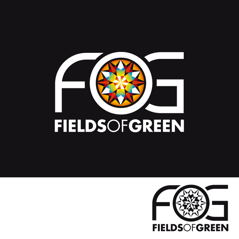 Logo Design by luna - Entry No. 199 in the Logo Design Contest Psych-Rock Band FIELDS OF GREEN Logo Design.