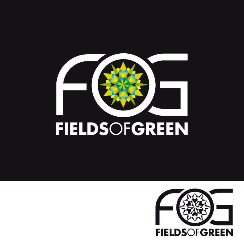 Logo Design by luna - Entry No. 200 in the Logo Design Contest Psych-Rock Band FIELDS OF GREEN Logo Design.