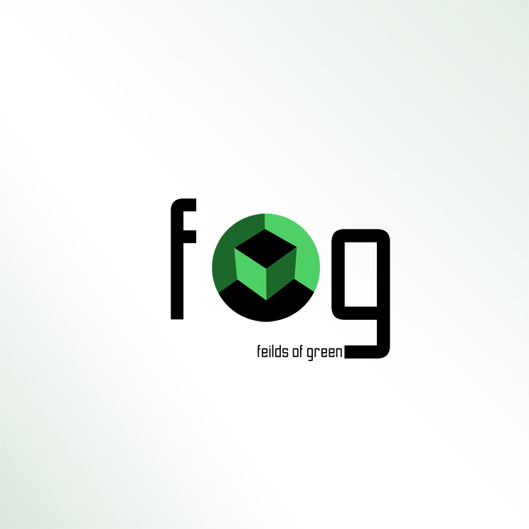 Logo Design by Utkarsh Bhandari - Entry No. 202 in the Logo Design Contest Psych-Rock Band FIELDS OF GREEN Logo Design.