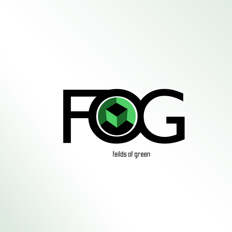 Logo Design by Utkarsh Bhandari - Entry No. 203 in the Logo Design Contest Psych-Rock Band FIELDS OF GREEN Logo Design.