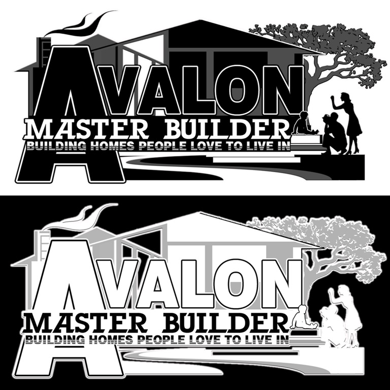 Logo Design by victor.safety21 - Entry No. 42 in the Logo Design Contest Avalon Master Builder Logo Design.