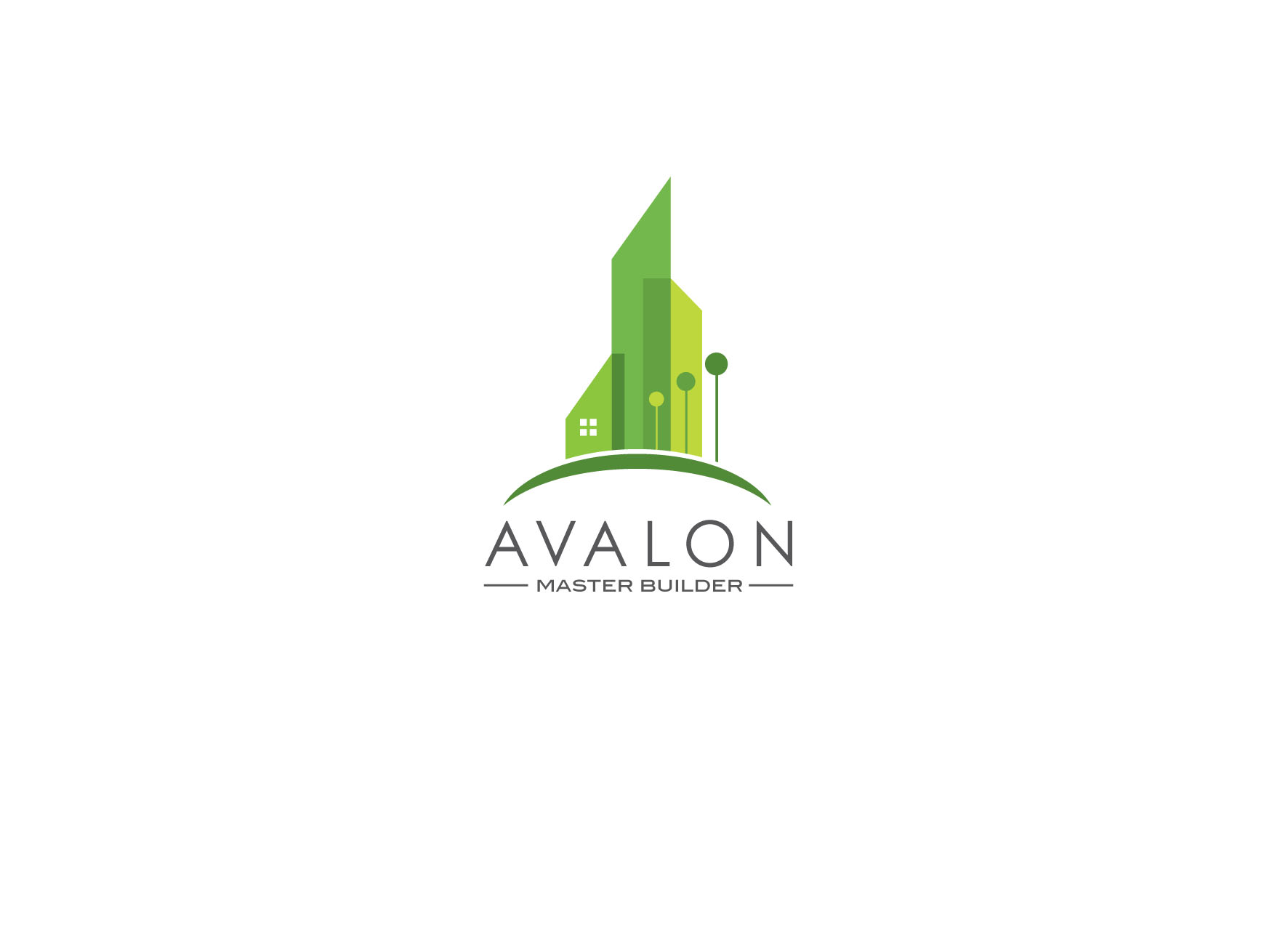 Logo Design by tanganpanas - Entry No. 44 in the Logo Design Contest Avalon Master Builder Logo Design.