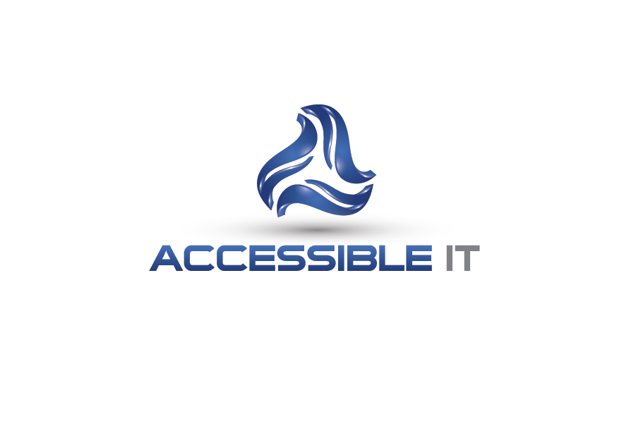 Logo Design by Muhammad Moinjaved - Entry No. 512 in the Logo Design Contest Logo Design Needed for Exciting New Company Accessible IT.
