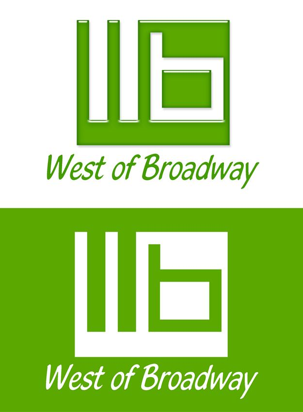 Logo Design by Respati Himawan - Entry No. 32 in the Logo Design Contest Unique Logo Design Wanted for West of Broadway.