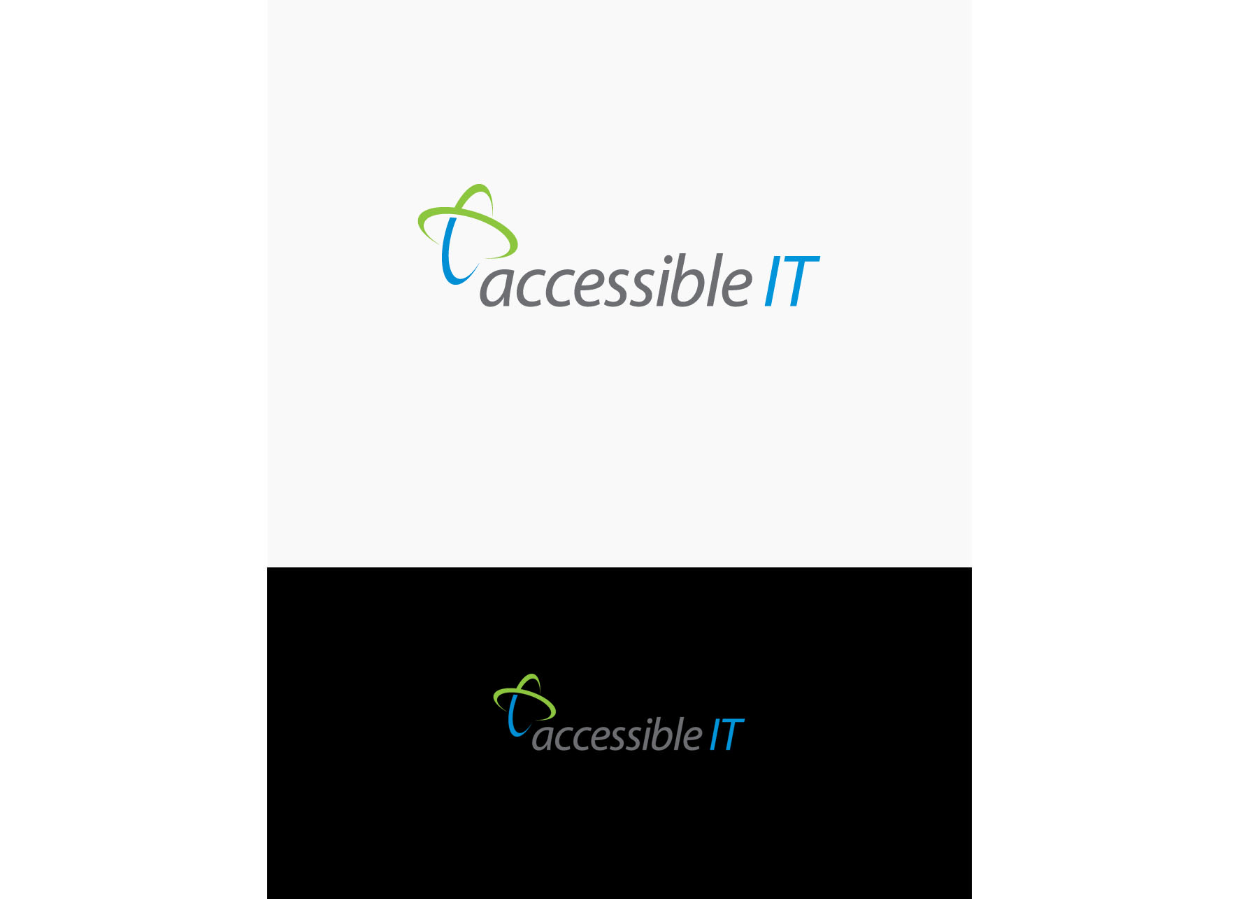 Logo Design by tanganpanas - Entry No. 517 in the Logo Design Contest Logo Design Needed for Exciting New Company Accessible IT.