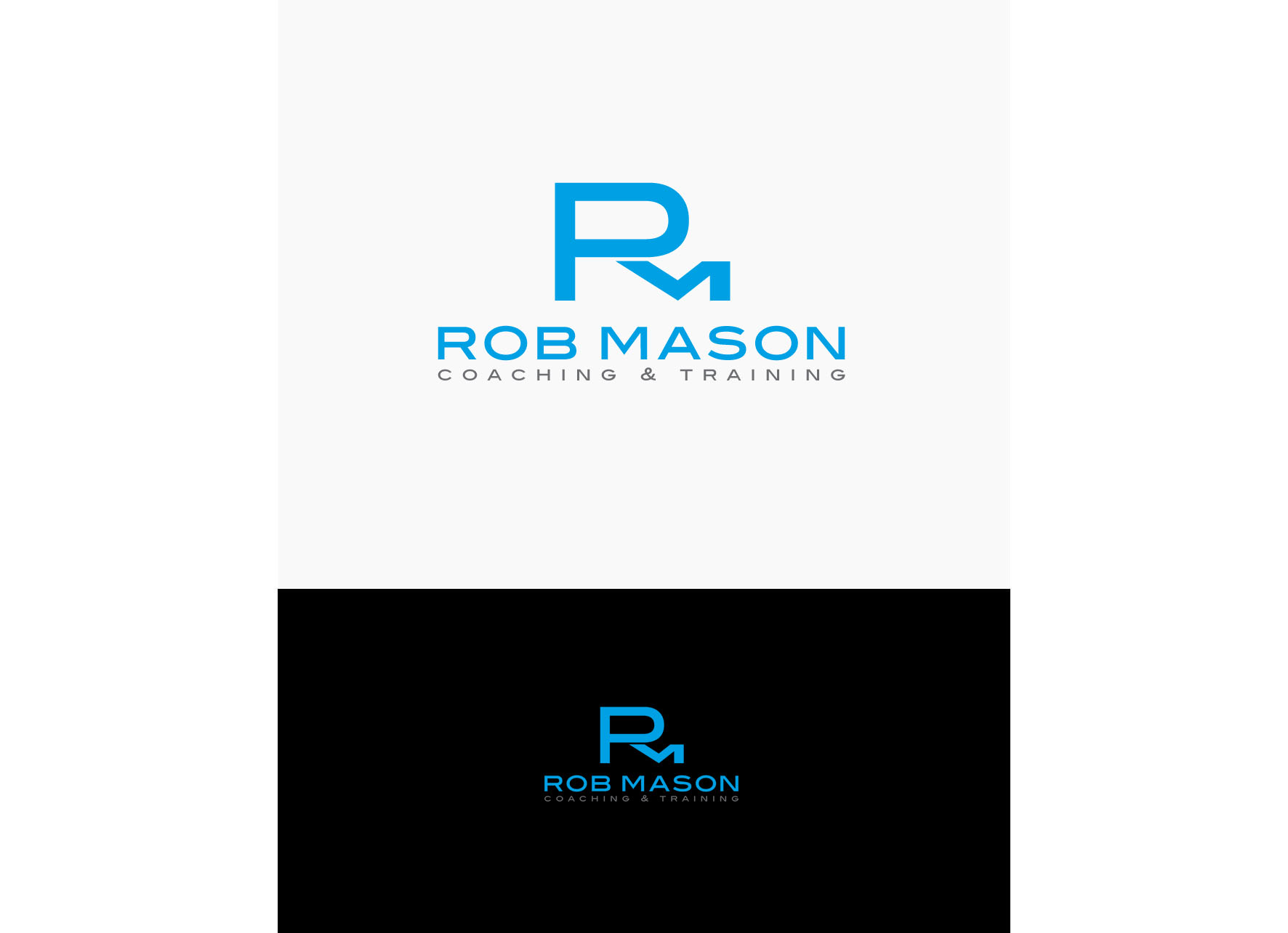 Logo Design by tanganpanas - Entry No. 127 in the Logo Design Contest New Logo Design Needed for Exciting Company Rob Mason Coaching.